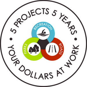 5 Porjects 5 Years logo